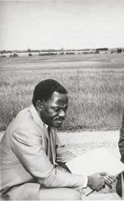 Edward R.K. Dwemoh circa 1971