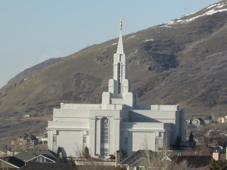 LDS Bountiful Utah Temple