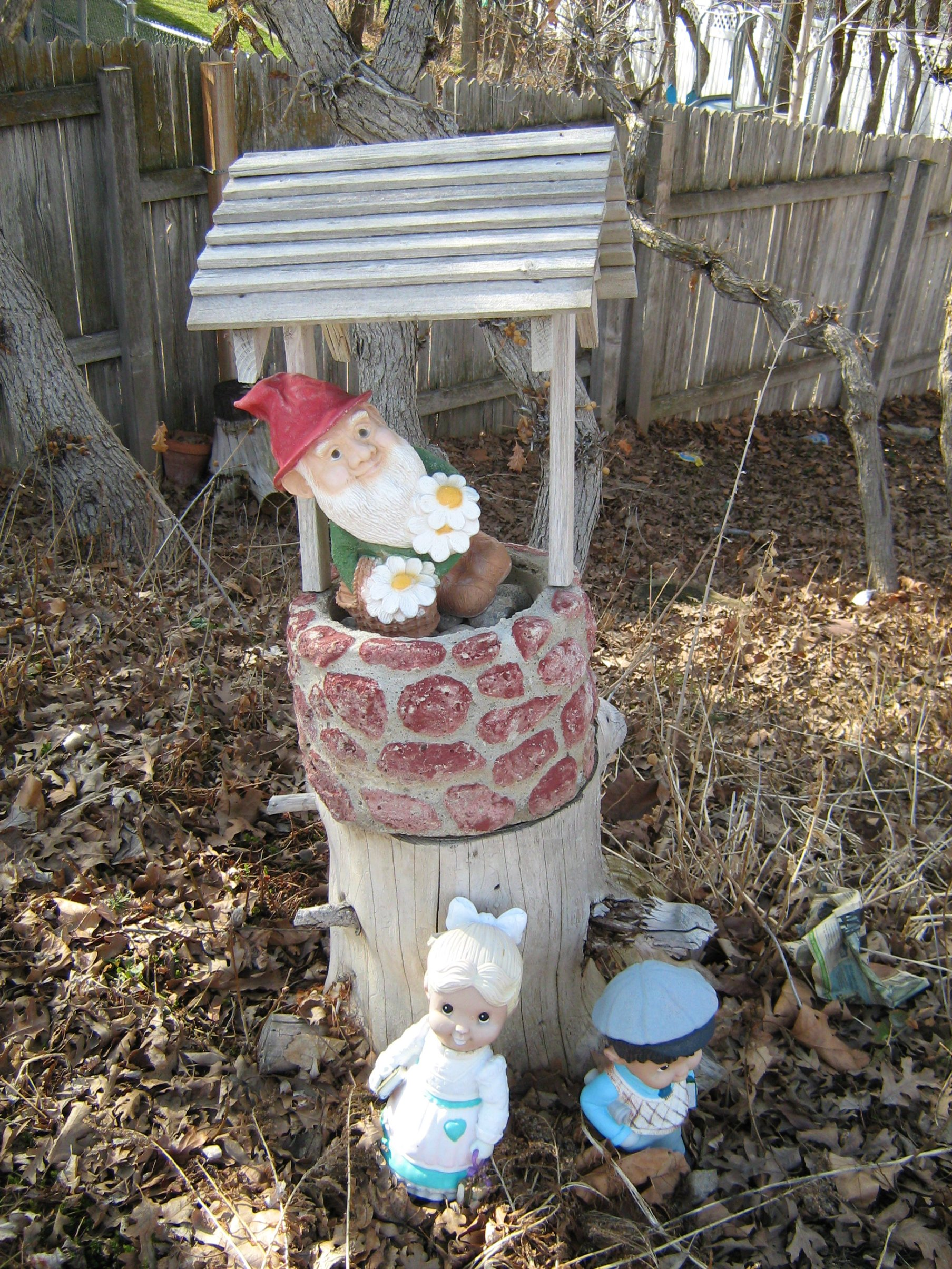 Shrine to the Yard Gnome