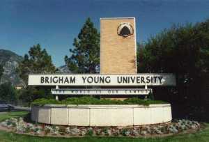 BYU in Provo, Utah
