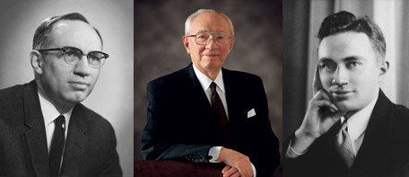 President Gordon Bitner Hinckley, world leader of The Church of Jesus Christ of Latter-day Saints, was ordained and set apart as the 15th President of the Church on Sunday, March 12, 1995. He passed away January 27, 2008, at the age of 97.