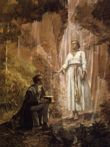Joseph Smith and The Angel Moroni