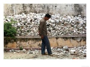 One of many Cambodian Killing Fields