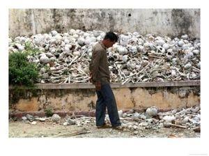 One of many Cambodian Killing Fields