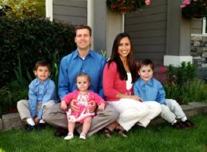Dan and Melanie Roach Family