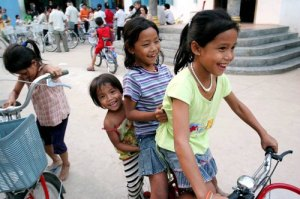 Cambodian Children Play