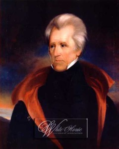 US President Andrew Jackson