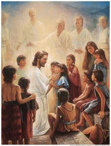 JesusBlessesTheNephiteChildren