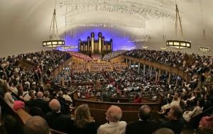 Mormon Tabernacle with Choir