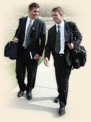 LDS - Mormon Missionaries