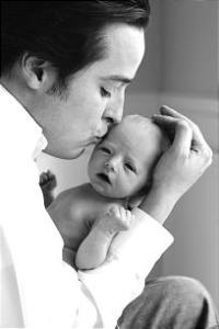 Paul Cardall and Baby