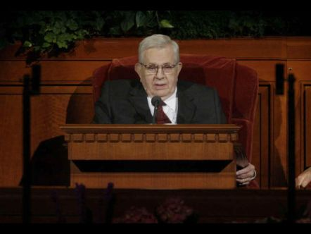 President Boyd K. Packer, LDS Apostle