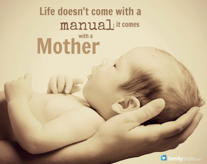 Life doesn't come with a manual