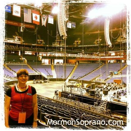 Arriving at Nationwide Arena - Columbus, Ohio