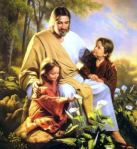 Easter-jesus-with-children