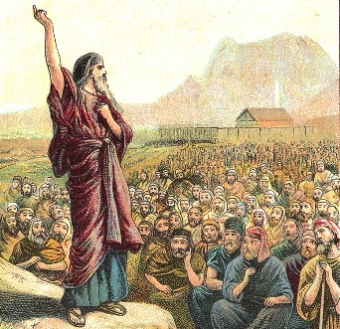 Moses-preaching