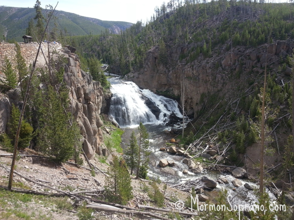 Gibbon Falls - West Yellowstone