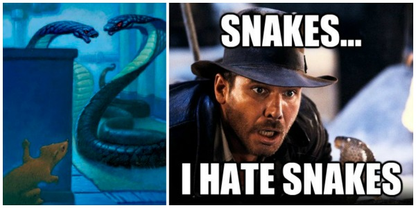 My relationship with snakes was forever damaged by these movies