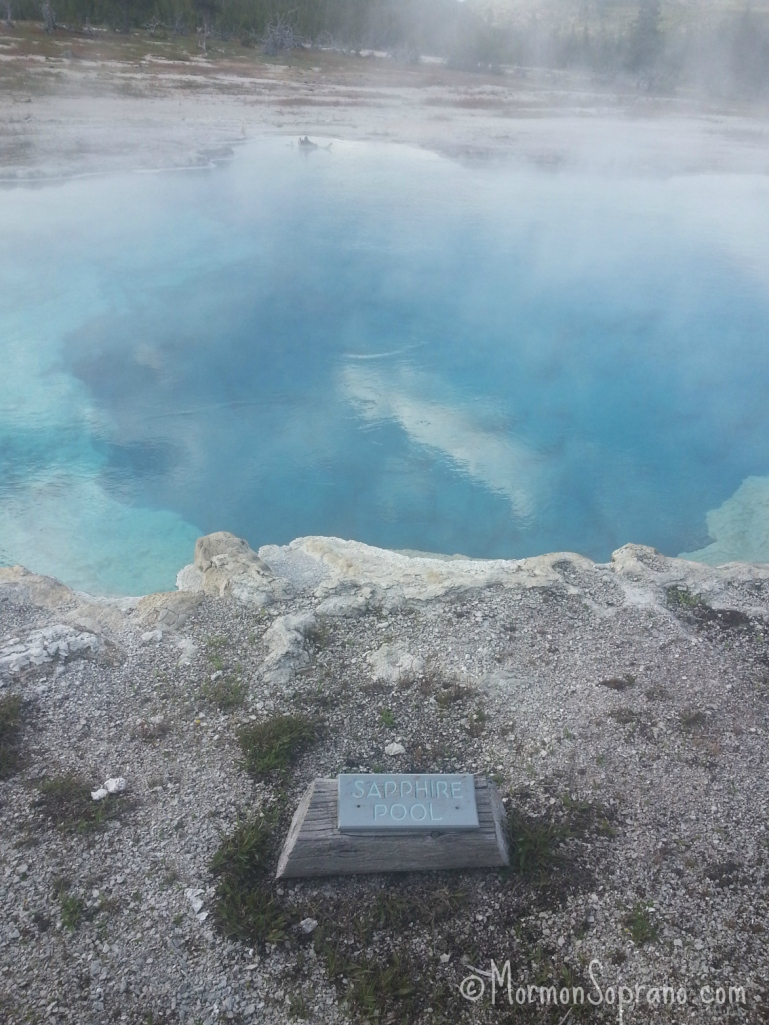 Sapphire Pool - Biscuit Basin, Yellowstone Nat'l Park