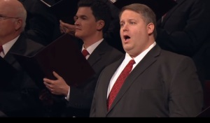 Shane Warby sings a solo at LDS General Conference October 2012