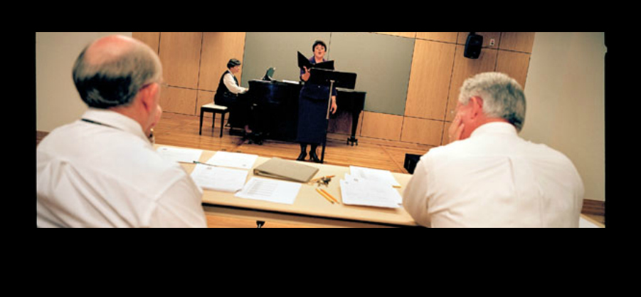 My vocal audition for the Choir - October 2007, photo @NYTimes Photo Copyright Ángel Franco/The New York Times October 28, 2007