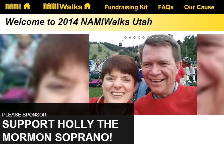 Click here and help support my WALK for NAMI!