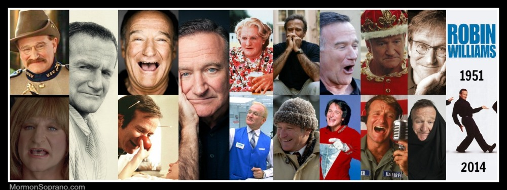 Robin Williams 1951-2014 / Rest In Peace