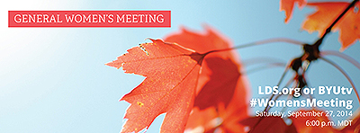 2014-09 General Womens Meeting banner
