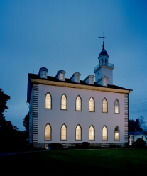 The Kirtland Temple is now owned by the Community of Christ