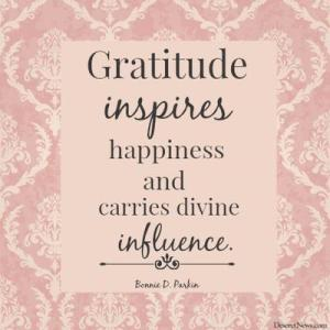 """See Sister Bonnie D. Parkin, """"Gratitude: A Path to Happiness"""""""