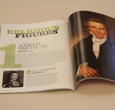 Smithsonian Magazine Ranks Joseph Smith, Jr. the #1 Most Significant Religious Figure in American History
