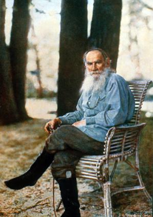 Leo Tolstoy, a Russian novelist, short story writer, essayist, and philosopher