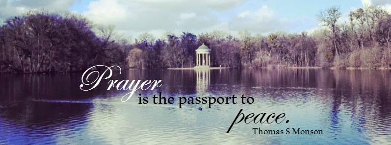 prayer passport to peace
