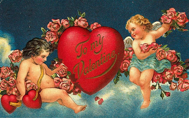 Cupids-with-Flowers-Heart