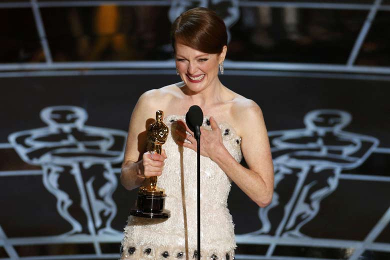 "Julianne Moore wins ""Best Actress"" for STILL ALICE"