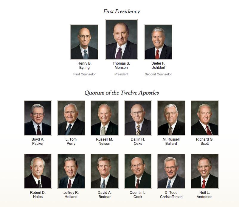 first-presidency-and-twelve-apostles