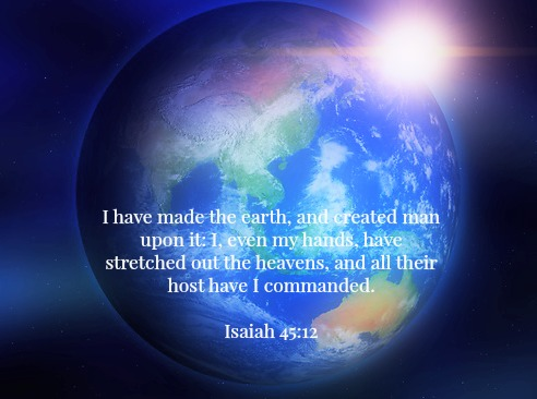 earth-creation-isaiah