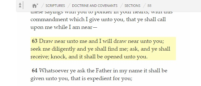 Doctrine and Covenants 88:63