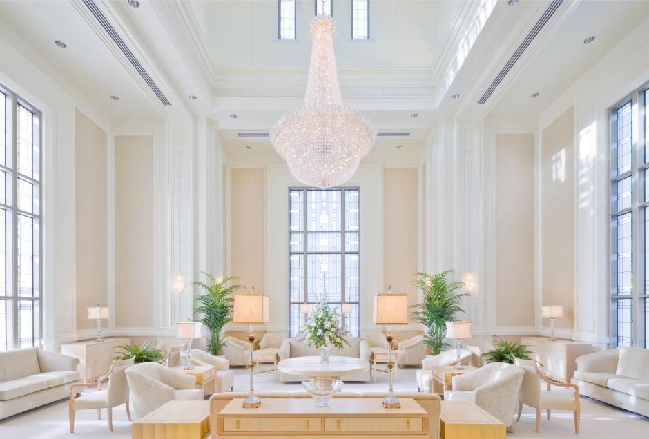 The Vancouver Washington Temple Celestial Room