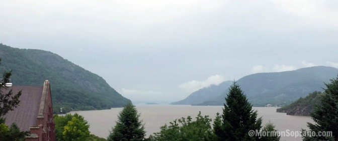 West Point Military Academy is situated on a bluff surrounded by the stately Hudson River. What a beautiful setting!