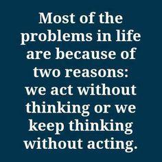 think-act-think