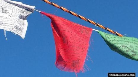 Prayer Flag Detail
