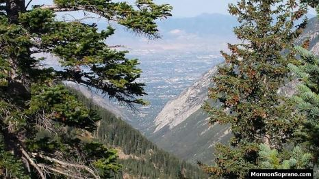 View of the Valley from Peruvian Ridge
