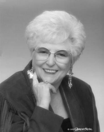 """Adeline's """"Golden Girl glamor shot"""" that she said we had to use for her obituary."""