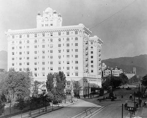 Hotel Utah - undated photo