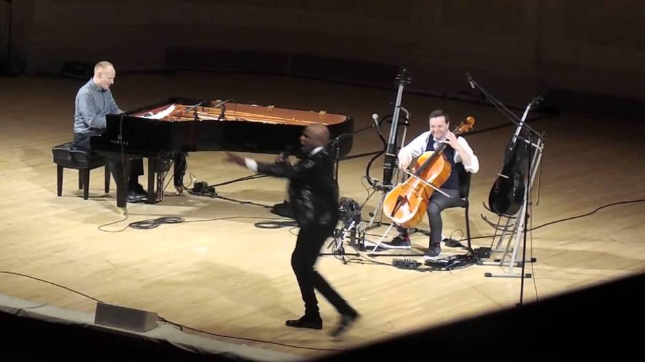Alex Boyé - Carnegie Hall with The Piano Guys, March 4, 2015