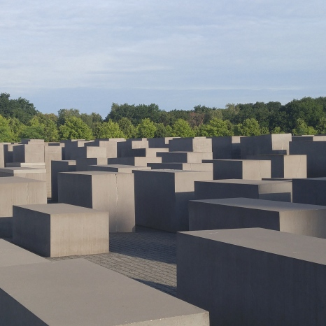 Memorial to the Murdered Jews - Berlin Germany