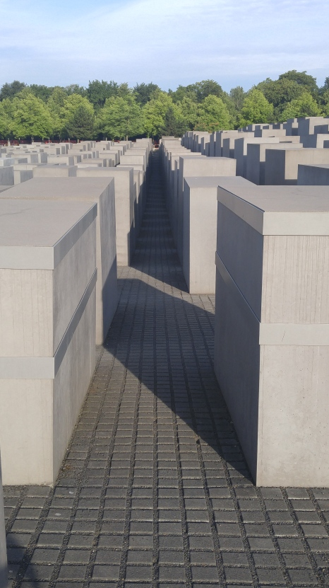 Memorial to the Murdered Jews - Berlin, Germany