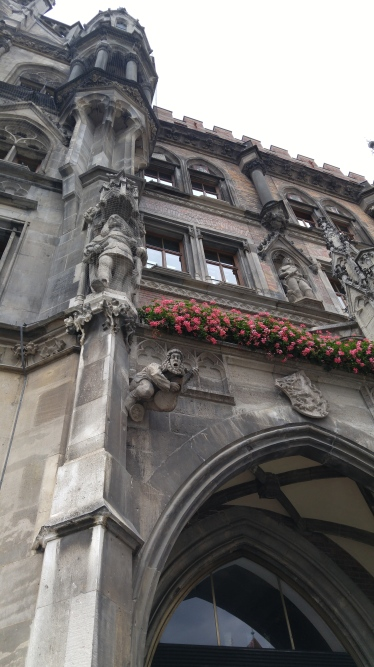 The beautiful Rathouse in Munich