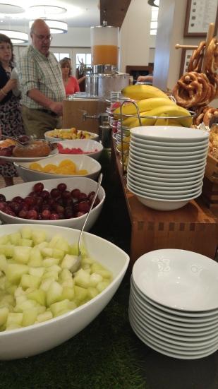 Fresh fruit = good!
